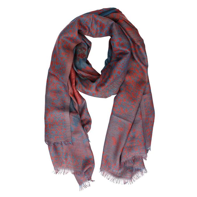 Dámský vzorovaný šátek bata, červená, 909-9219 - 13