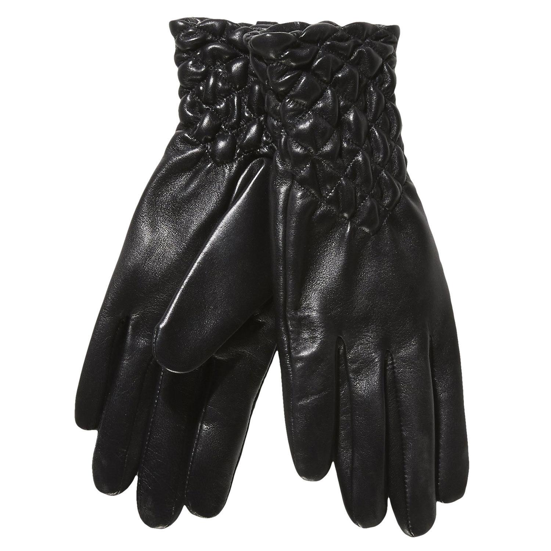 507812a398 Baťa Dámské kožené rukavice s prošíváním - Doplňky