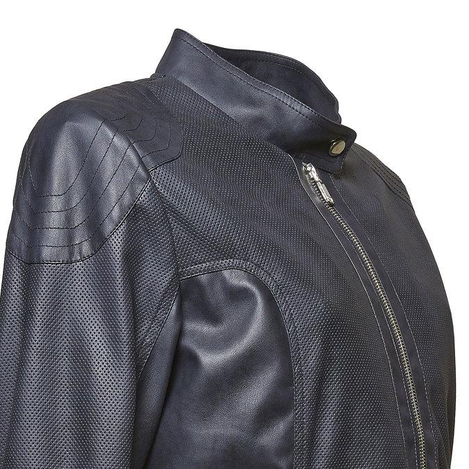 Dámská bunda s prošíváním bata, černá, 971-6113 - 16