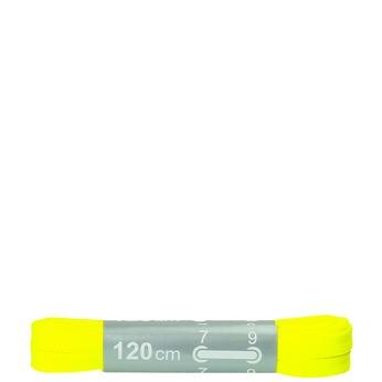 Barevné tkaničky bata, žlutá, 999-8266 - 13