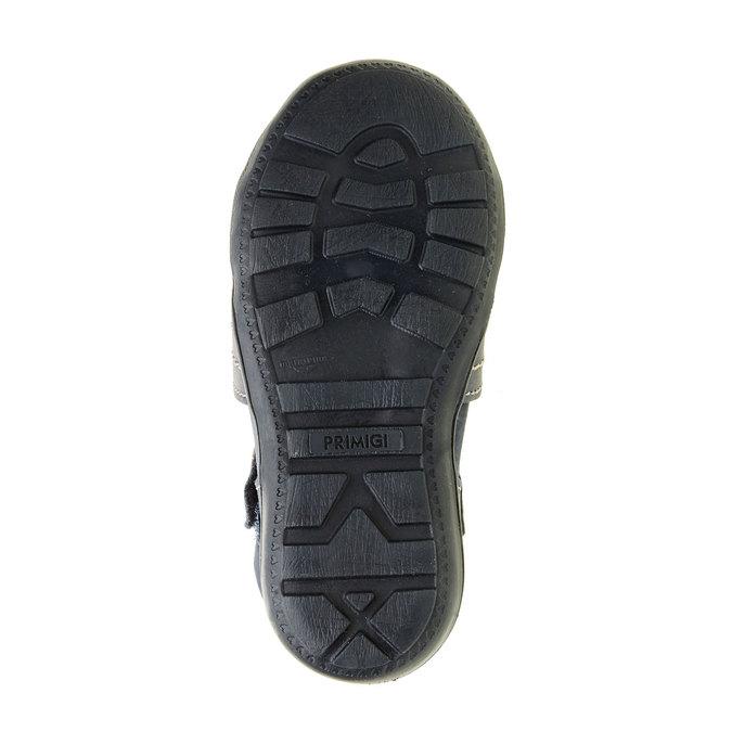 Dětské kožené sandály primigi, modrá, 113-9009 - 26