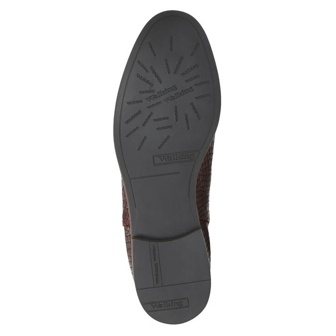 Kožené Chelsea boots bata, hnědá, 596-4606 - 26
