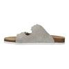 Dámské kožené pantofle de-fonseca, béžová, 573-8620 - 26