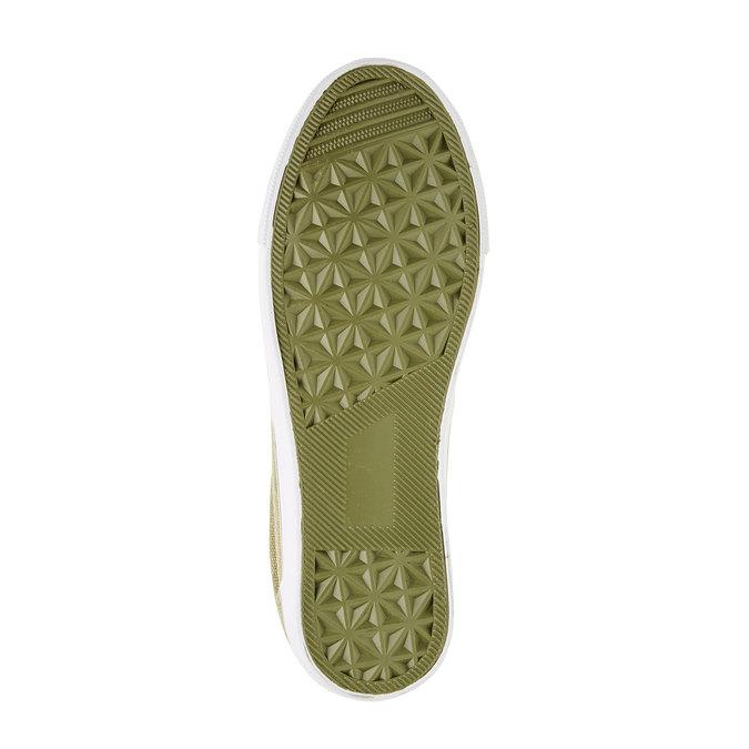 Dětská obuv typu Slip-On mini-b, zelená, 319-7215 - 26