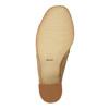 Kožené nazouváky na širokém podpatku bata, 2019-763-3516 - 26