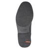 Pánské kožené polobotky rockport, černá, 824-6109 - 26