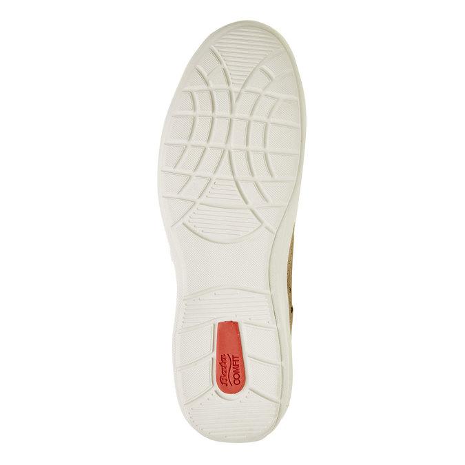 Ležérní kožené tenisky comfit, béžová, 843-8643 - 26