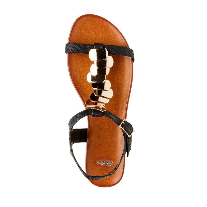 Dámské sandály bata, černá, 561-6301 - 19