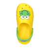 Dětské sandály Clogs s žabičkou coqui, žlutá, 301-8615 - 19