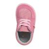 Dívčí kožená domácí obuv, růžová, 104-5001 - 19