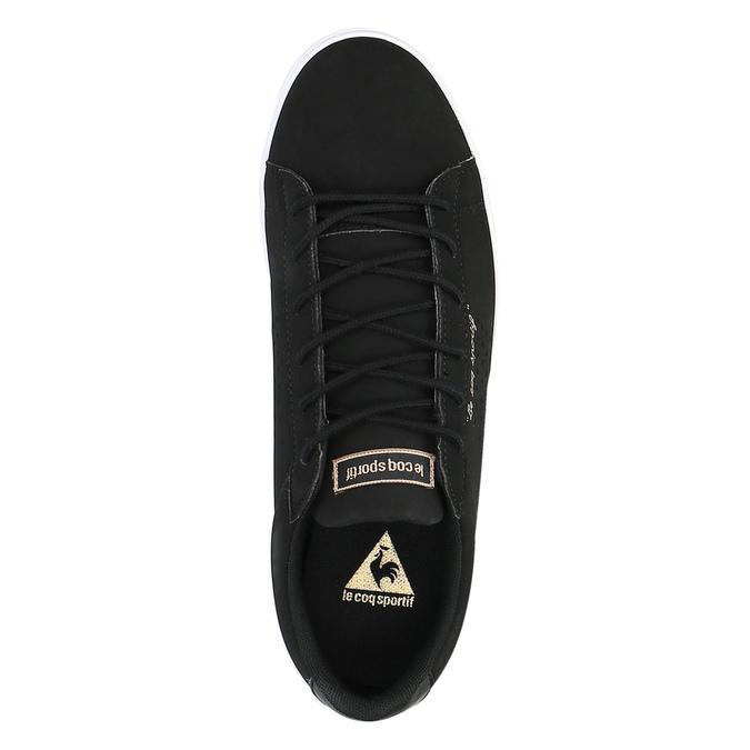 Černé dámské tenisky le-coq-sportif, černá, 501-6438 - 19