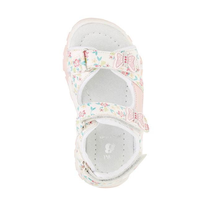 Dětské sandály mini-b, bílá, 261-1165 - 19