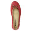 Ležérní kožené baleríny weinbrenner, červená, 526-5503 - 19