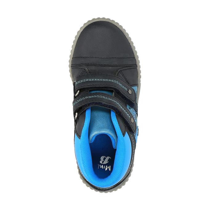 Dětské kotníčkové tenisky mini-b, modrá, 211-9603 - 19