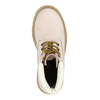 Dětská kožená obuv na výrazné podešvi weinbrenner-junior, růžová, 396-5182 - 19
