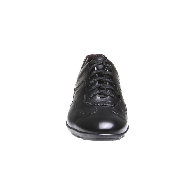 Ležérní kožené polobotky bata, černá, 824-6988 - 16