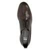 Dámské kožené polobotky bata, hnědá, 528-2600 - 19