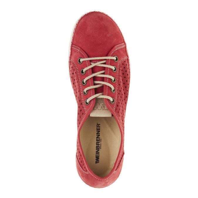 Kožené tenisky weinbrenner, červená, 546-5238 - 19