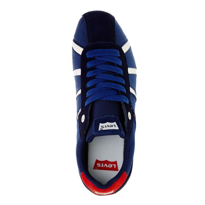 Ležérní pánské tenisky levis, modrá, 841-9198 - 19