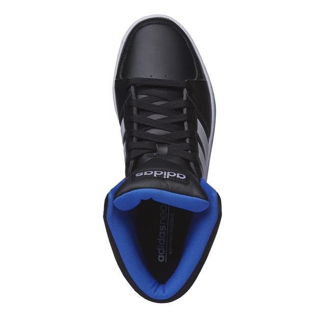 Pánské kotníčkové tenisky adidas, černá, 801-6140 - 19