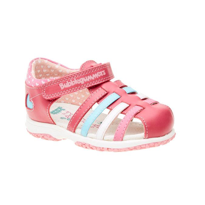 Dětská obuv s uzavřenou patou bubblegummer, růžová, 124-5142 - 13