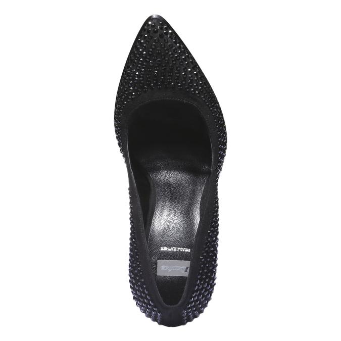 Lodičky na stiletto podpatku se štrasem bata, 2019-721-6879 - 19
