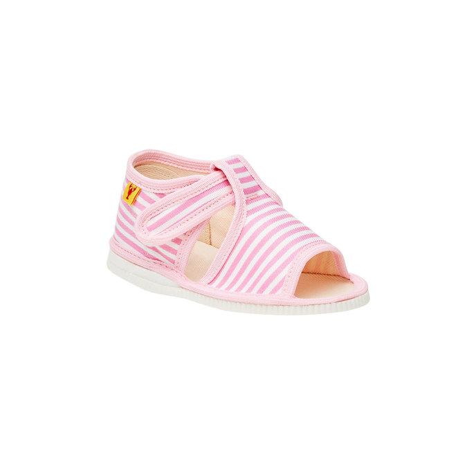 Dětská domácí obuv bata, růžová, 179-5102 - 13