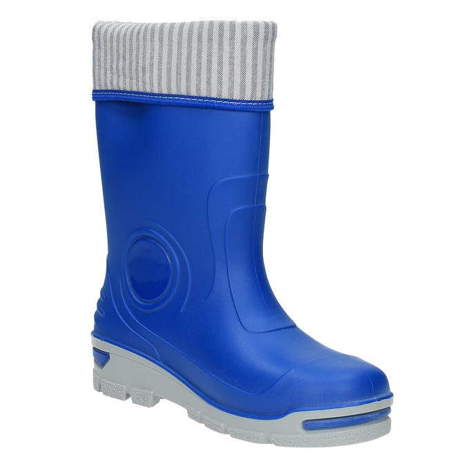 Dětské modré holínky mini-b, modrá, 292-9200 - 13
