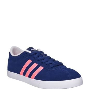 Dámské kožené tenisky adidas, modrá, 503-9201 - 13
