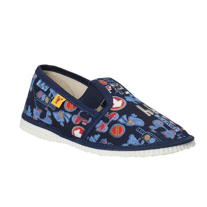 Dětská domácí obuv bata, modrá, 279-9104 - 13