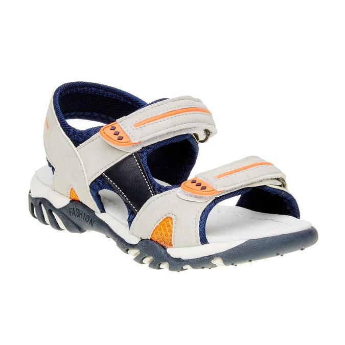 Dětské sandály mini-b, béžová, 361-2181 - 13