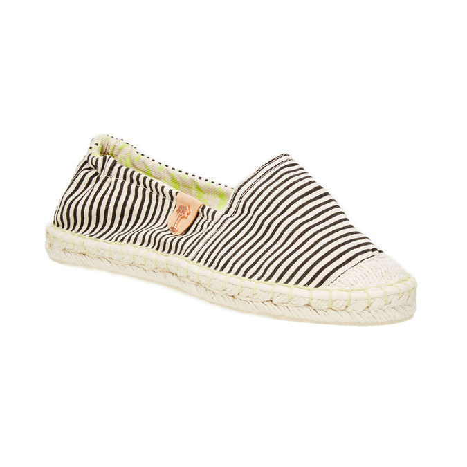 Dámská obuv typu Espadrilles bata, černá, 2020-559-6400 - 13