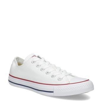 Dámské bílé tenisky s gumovou špičkou converse, bílá, 589-1279 - 13