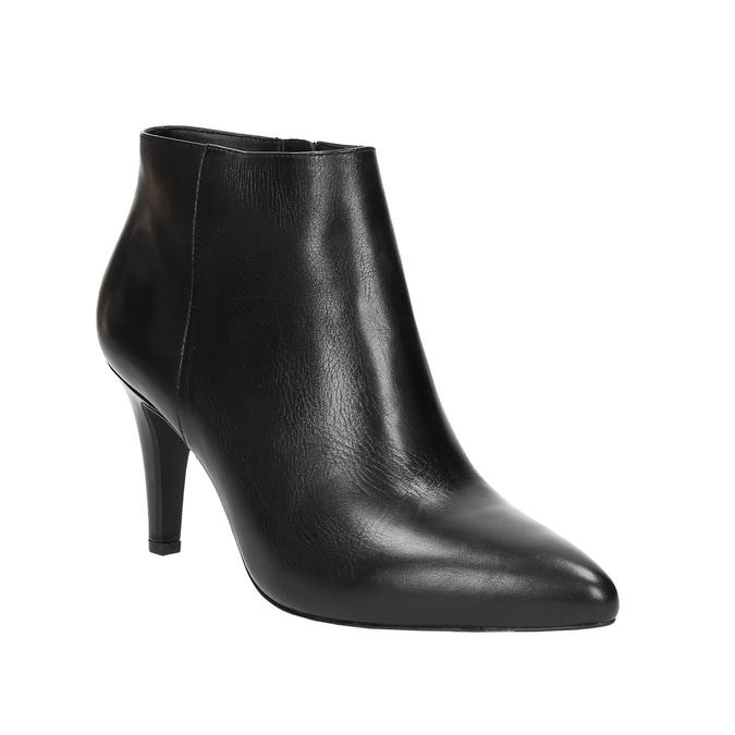 Dámská kotníčková obuv insolia, černá, 794-6629 - 13