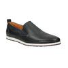 Pánské kožené Slip on boty bata, černá, 814-9148 - 13