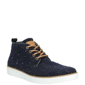 Pánské ležérní tenisky bata, modrá, 849-9621 - 13