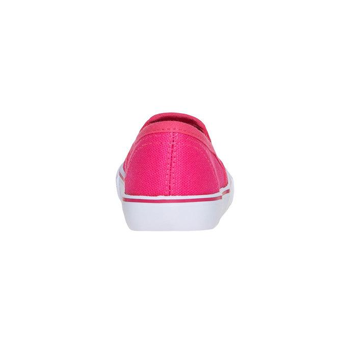 Růžové Slip on boty s kamínky mini-b, růžová, 2019-229-5148 - 17