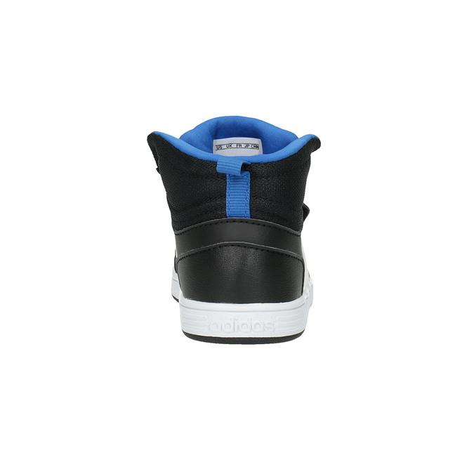 Dětské kotníčkové tenisky na suchý zip adidas, černá, 101-6231 - 17