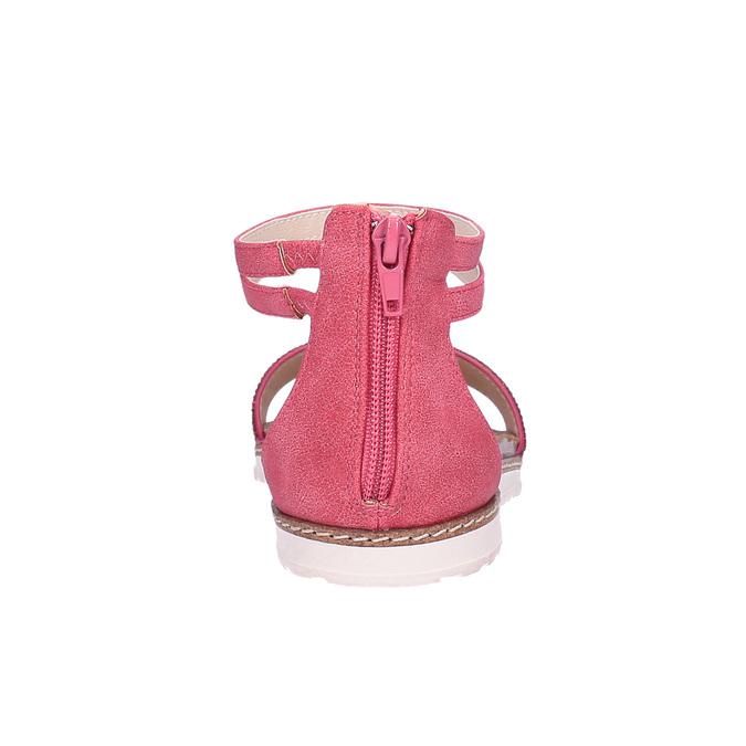 Dětské růžové sandály mini-b, růžová, 361-5161 - 17