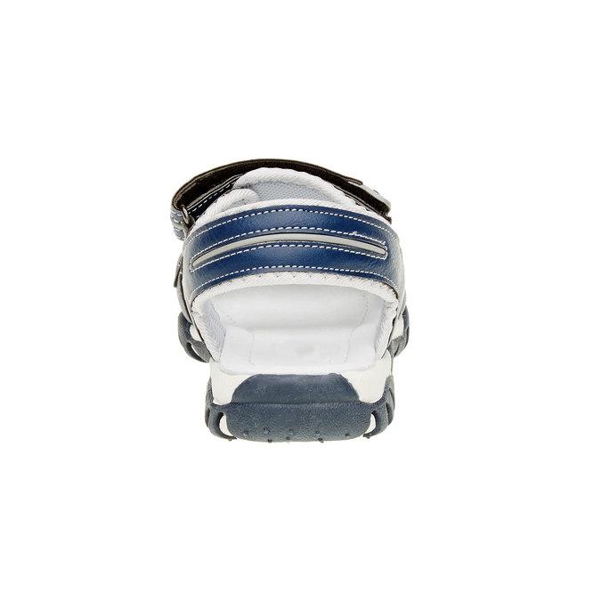 Dětské sandály mini-b, modrá, 361-9181 - 17