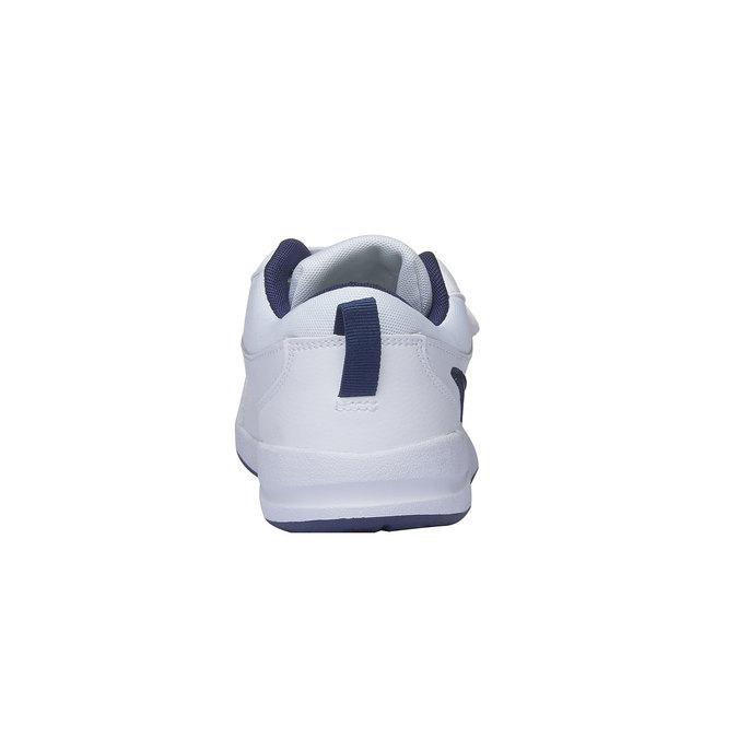 Dětské tenisky na suchý zip nike, modrá, bílá, 304-9548 - 17