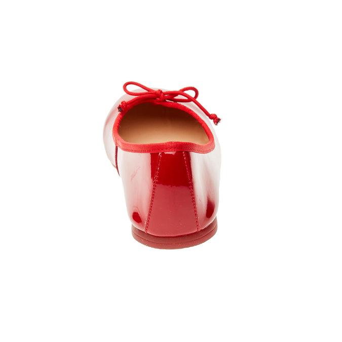 Červené baleríny bata, 2019-521-5144 - 17