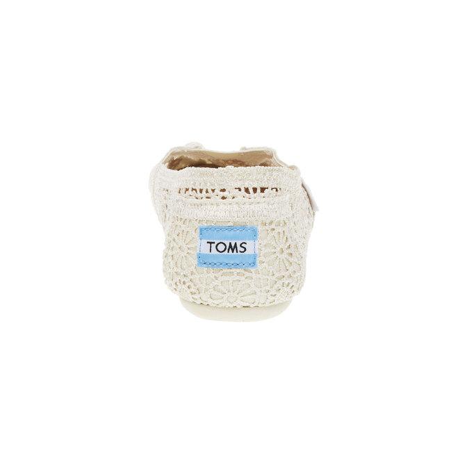 Krajkové Slip on toms, béžová, 519-1100 - 17
