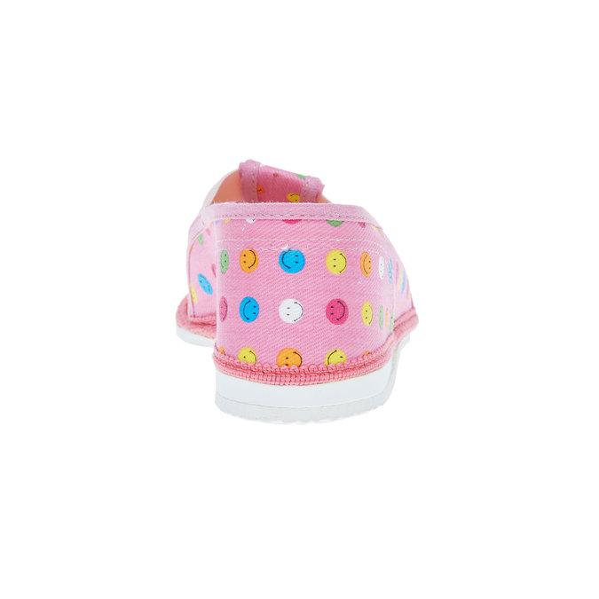 Dětská domácí obuv bata, růžová, 279-5011 - 17