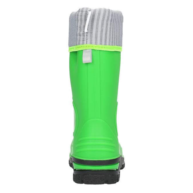 Dětské zelené holínky mini-b, zelená, 292-7200 - 17