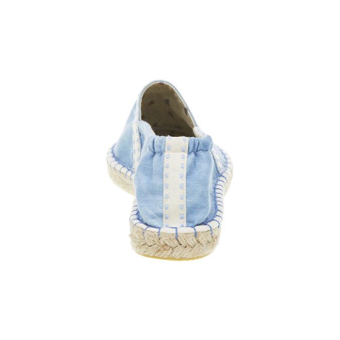 Dámská obuv typu Espadrilles bata, modrá, 2019-559-9420 - 17