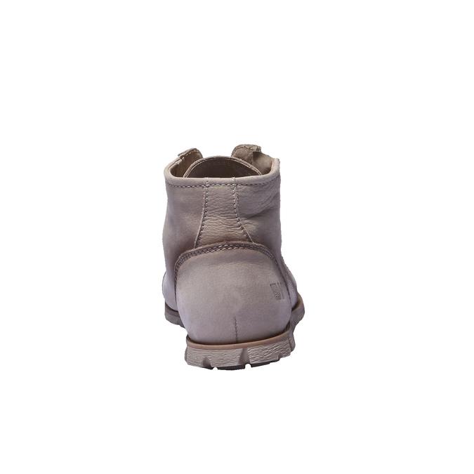 Designová kožená obuv weinbrenner, hnědá, šedá, 544-2145 - 17