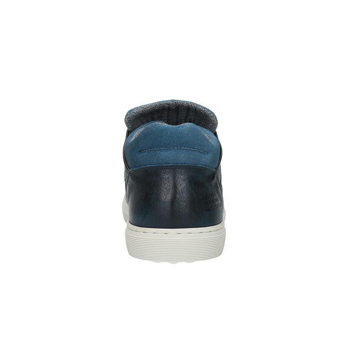 Pánské tenisky bata, modrá, 844-9624 - 17