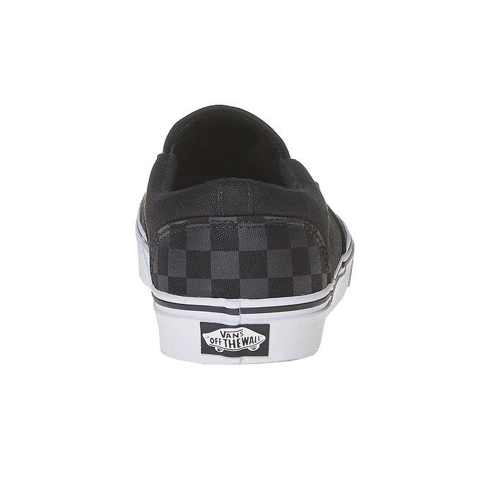 Pánské Slip on boty vans, černá, 889-6309 - 17