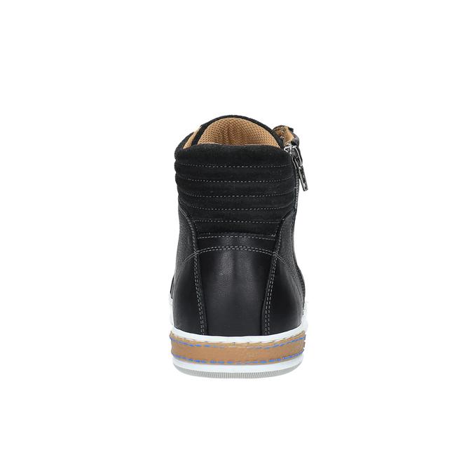 Pánské kotníčkové tenisky bata, černá, 844-6625 - 17